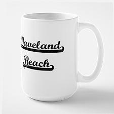Waveland Beach Classic Retro Design Mugs