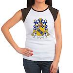 Guiraud Family Crest Women's Cap Sleeve T-Shirt