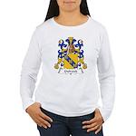 Guiraud Family Crest Women's Long Sleeve T-Shirt