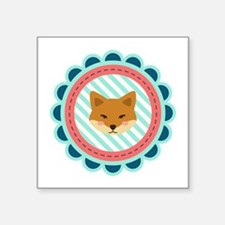 Baby Fox Patch Sticker