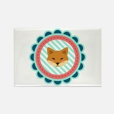 Baby Fox Patch Magnets