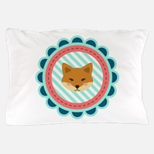 Baby Fox Patch Pillow Case