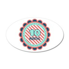 10 Months Wall Decal
