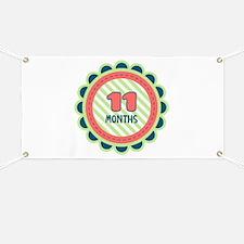 11 Months Banner