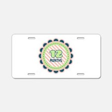12 Months Aluminum License Plate