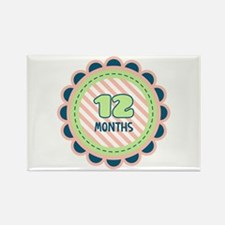 12 Months Magnets
