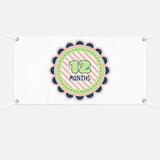 12 Months Banner