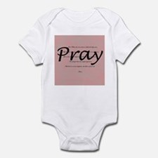 Our Father Prayer Infant Bodysuit