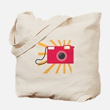 Camera Burst Tote Bag