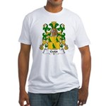 Guiot Family Crest Fitted T-Shirt