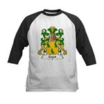 Guiot Family Crest Kids Baseball Jersey