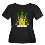 Guiot Family Crest Women's Plus Size Scoop Neck Da