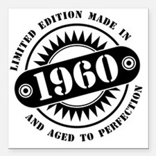 """LIMITED EDITION MADE IN Square Car Magnet 3"""" x 3"""""""