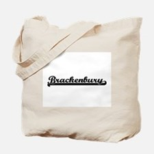 Brackenbury Classic Retro Design Tote Bag