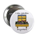 "I Can Garden Anywhere 2.25"" Button (100 pack)"