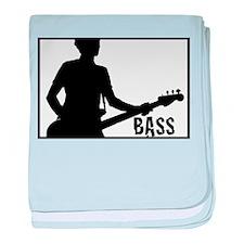 Unique Guitarist baby blanket