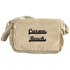 Carson Beach Classic Retro Design Messenger Bag