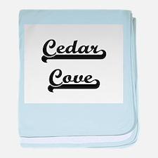 Cedar Cove Classic Retro Design baby blanket