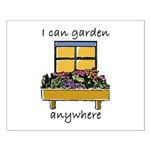 I Can Garden Anywhere Small Poster