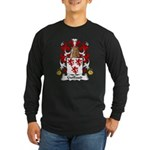 Guillaud Family Crest Long Sleeve Dark T-Shirt