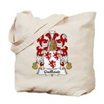 Guillaud Family Crest  Tote Bag
