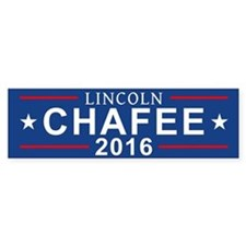Lincoln Chafee 2016 Bumper Bumper Sticker