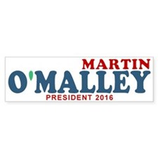 Martin O'Malley Car Sticker