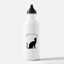 I Kiss My Cat Water Bottle