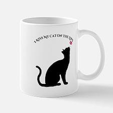 I Kiss My Cat Mugs