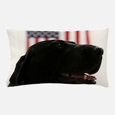 All-American Black Labrador Retriever Pillow Case