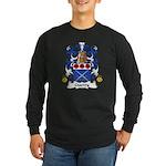 Guerry Family Crest Long Sleeve Dark T-Shirt