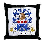 Guerry Family Crest Throw Pillow