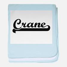 Crane Classic Retro Design baby blanket