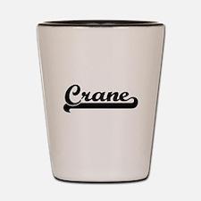 Crane Classic Retro Design Shot Glass