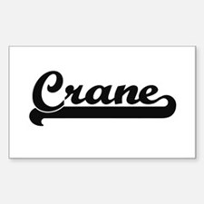 Crane Classic Retro Design Decal