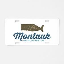 Montauk Aluminum License Plate