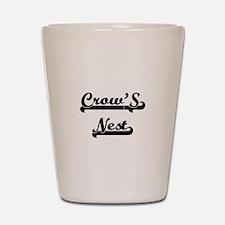 Crow'S Nest Classic Retro Design Shot Glass