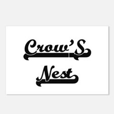 Crow'S Nest Classic Retro Postcards (Package of 8)