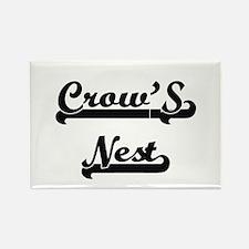 Crow'S Nest Classic Retro Design Magnets