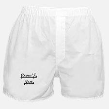 Crow'S Nest Classic Retro Design Boxer Shorts