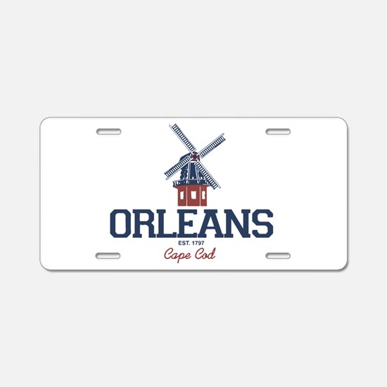Orleans Aluminum License Plate