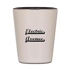 Electric Avenue Classic Retro Design Shot Glass