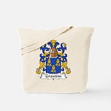 Grondin Family Crest Tote Bag