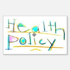 Health Policy Decal