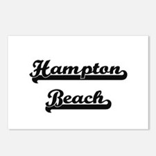 Hampton Beach Classic Ret Postcards (Package of 8)