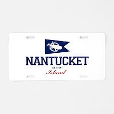 Nantucket Aluminum License Plate