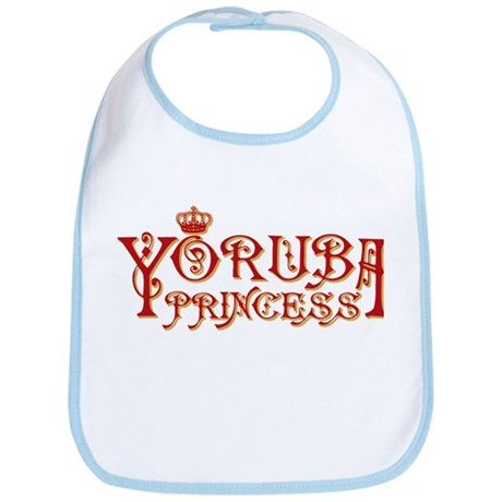 Yoruba Princess Bib