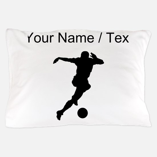 Soccer Player (Custom) Pillow Case
