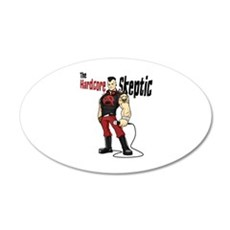 Hardcore Skeptic Decal Wall Sticker