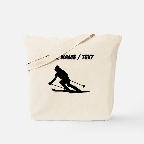 Skier (Custom) Tote Bag